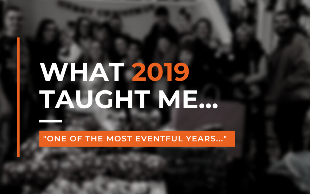 Here's the most important thing I learned in 2019…