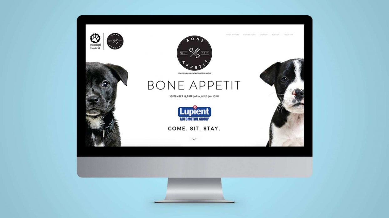 Bone Appetit Website